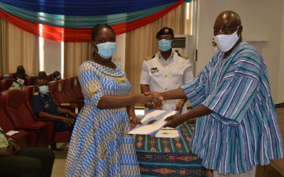 GHANA ARMED FORCES COMMAND AND STAFF COLLEGE INTRODUCES MARITIME SECTOR GOVERNANCE COURSE