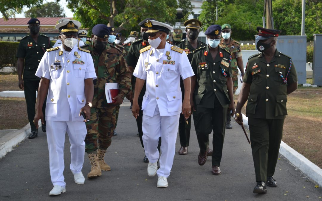 CHIEF OF THE DEFENCE STAFF VISITS GHANA ARMED FORCES COMMAND AND STAFF COLLEGE